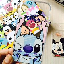 Cute Cartoon Crystal Phone Case Cover for iPhoneX XS Max XR 5 6S 7 8Plus Samsung
