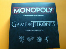 Monopoly - Game of Thrones Collector´s Edition