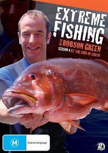Extreme Fishing With Robson Green : Season 4 (DVD, 2012, 2-Disc Set) Region 4