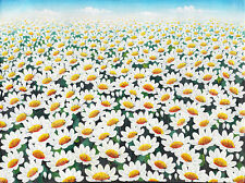 Hand painting Flower Field 270