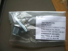 ANDERSON HICKEY FILE CABINET LOCK-AFTER 2/1999