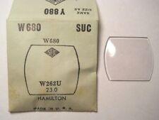 SUC W680 GS Y888 PY888 Watch Crystal 26.2 x 23.0 mm FITS 1927 HAMILTON TONNEAU