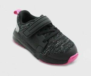 Toddler's Vance Sneakers Black/Pink - Cat & Jack - SIZE 12