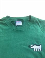 Vintage Keith Haring Logo T Shirt