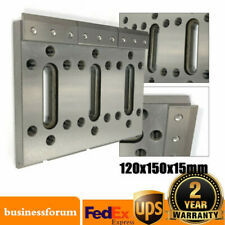 Wire Edm Fixture Board Stainless Jig Device for Clamping&Leveling 120x150x15mm