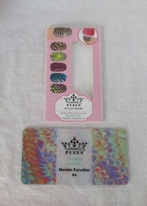 New-Pueen stamping plate Theme Park Collection Marble Paradise