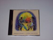 JOHNNY LOGAN - LIVING FOR LOVING, 10 TRACKS , 1994, PLAZA RECORDS (COMPACT DISC)