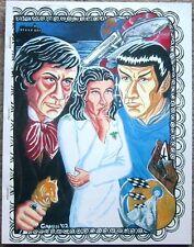 "Dark Shadows Star Trek TOS Fanzine ""Shadows Trek"" GEN Novel"