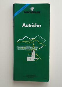 Guide vert Michelin Autriche  1991