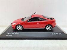 Minichamps Toyota Celica Red. 1:43