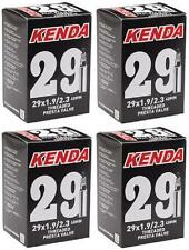 """4x Kenda 29"""" MTB Tube 29x1.9/2.3 48mm F/V Valve 29er 247grams Tubes TUBE966L"""