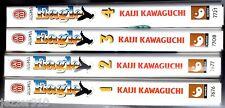 LOT de 4 EAGLE n°1-2-3-4 # KAIJI KAWAGUCHI # 2005 J'AI LU MANGA