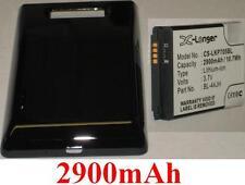 Coque + Batterie 2900mAh type BL-44JH Pour LG Optimus P705, LG Optimus P705g