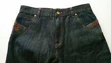 Roca Wear Women's Ladies Embellished pocket Jeans Pants Size 16