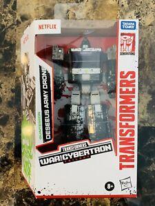 New Transformers War For Cybertron Netflix Deseeus Army Drone Walmart Exclusive