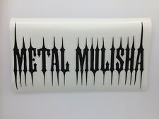 "Metal Mulisha stickers  ""Spike BLK"" Sticker --Free Shipping"
