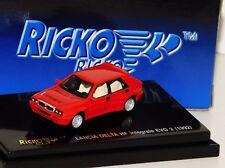 LANCIA DELTA HF INTEGRALE EVO 2 1992 RED RICKO 1/87
