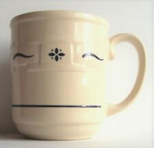 Longaberger Woven Traditions Heritage Blue Mug Coffee Tea Cup 12oz Usa Made