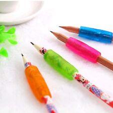 4 Pcs Silicone Pencil Grip Child Kid Handwriting Aid Tool Soft Rubber Pen  UKPL