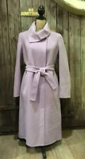 NWT Talbots Lavender Purple Long Wool Blend Coat Size 6
