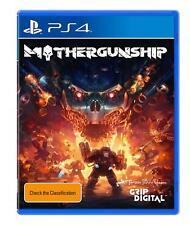 Mothergunship Mother Gunship Rare Alien Invasion Action Shooter Game Sony PS4