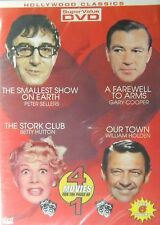 The Stork Club The Smallest Show on Earth Our Town A Farewell to Arms DVD New