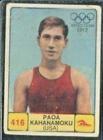 FIGURINA PANINI 1968/69 CAMPIONI DELLO SPORT OLIMPIADI-KAHANAMOKU -n.416-REC