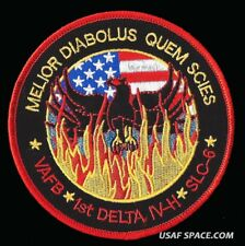 USAF BLACK OPS PHOENIX MISSION AREA 51 NRO L-49 DELTA IV-H SATELLITE SPACE PATCH