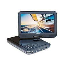 SYNAGY 10.1inch Portable DVD Player CD Player (Black) Black Free Shipping