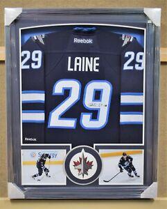Patrik Laine Winnipeg Jets Signed and Framed Jersey - Fanatics Authentic