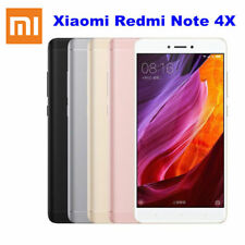 Xiaomi REDMI Note 4x Dual SIM 32gb Smartphone Mobile 4g LTE GSM Unlocked Black