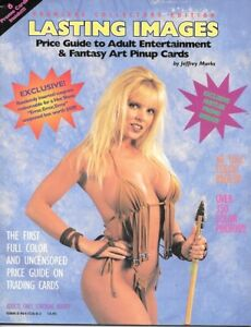 Lasting Images Price Guide Magazine #1 Adult & Fantasy Art Cards 1995 VERY FINE-