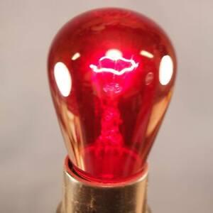 Lot of 11 GE Red Darkroom Safelights 10 watt 115 volt Small Bulb Size 100% test