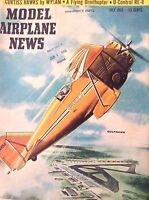 Model Airplane News Magazine Gulfhawk, Curtiss Hawks July 1955 082817nonrh