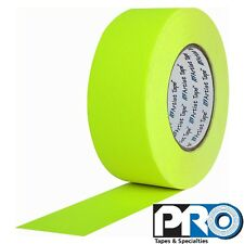 Pro Tapes Artist Tape 3/4 Inch x 60 yards Fluorescent Yellow
