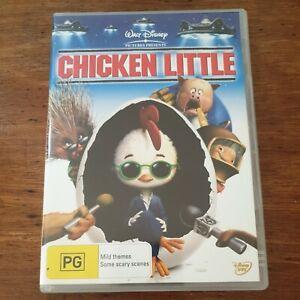 Chicken Little DVD R4 Like New! FREE POST