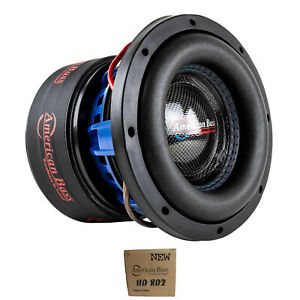 "American Bass 8"" HD Series 800W Dual 2 Ohm Subwoofer HD-8-D2"