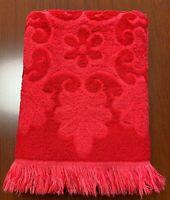 Canon Royal Family Bath Towel Red