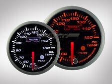 Prosport Öltemperatur Racing Premium Serie Orange/ Weiss 52mm