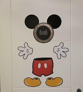 Disney Cruise Line Mickey Mouse Body Door Magnet