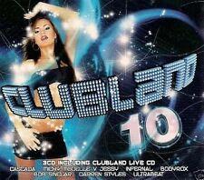 CLUBLAND Vol. 10 - 3 CDs NEU - Cascada Rihanna Shanie