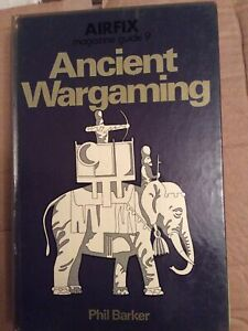 Airfix Magazine Guide 9 - Ancient War gaming By Phil Barker Pre-owned