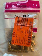 Apollo pex barb fitting 10 pack #1001-404-806