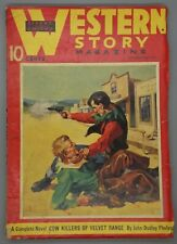 WESTERN STORY MAGAZINE pulp   September 11, 1937