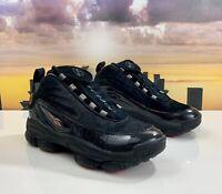 Reebok Iverson Legacy Basketball Shoes Black/Red/Gold CN8404 Men's Size 8.5
