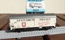 MÄRKLIN  4654  Bierwagen Spatenbräu der DB Epoche 3/4 in OVP, gebraucht