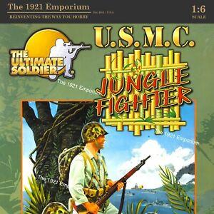 1:6 21st Century Toys Ultimate Soldier WWII US Marine Corps USMC Jungle Rifleman