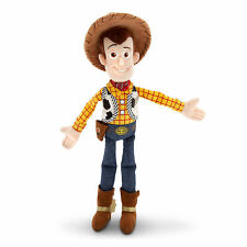 "Disney Store Toy Story Sheriff Woody Cowboy Plush Toy Doll 12"" Mini Bean Bag NEW"