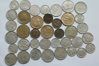 BELGIUM OLD CURRENCY COINS LOT B13 XN37