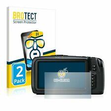 Blackmagic Pocket Cinema Camera 6K , 2x  BROTECT® HD-Clear Screen Protector